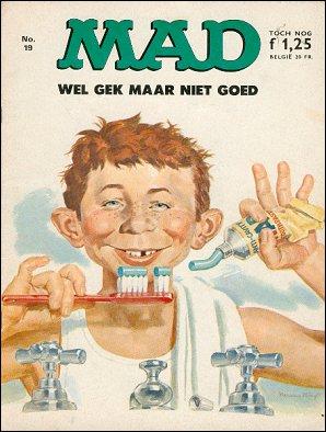 MAD Magazine #19 • Netherlands • 1st Edition