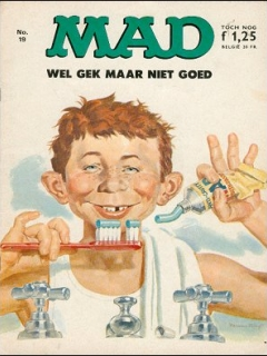 Go to MAD Magazine #19 • Netherlands • 1st Edition