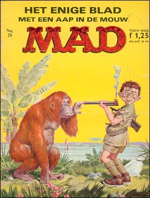 MAD Magazine #20 • Netherlands • 1st Edition
