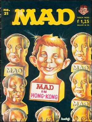 MAD Magazine #21 • Netherlands • 1st Edition