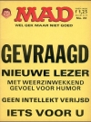 MAD Magazine #22 • Netherlands • 1st Edition