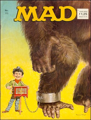 MAD Magazine #23 • Netherlands • 1st Edition