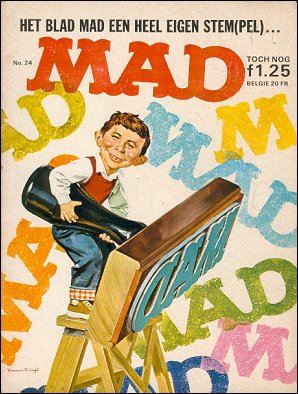 MAD Magazine #24 • Netherlands • 1st Edition