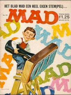 Go to MAD Magazine #24 • Netherlands • 1st Edition