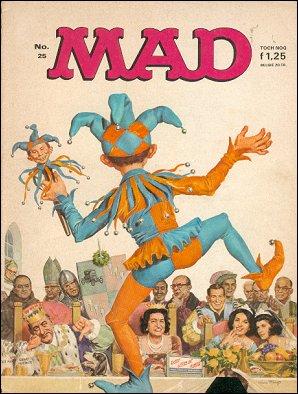 MAD Magazine #25 • Netherlands • 1st Edition