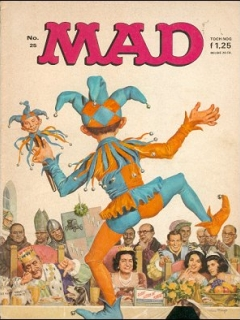 Go to MAD Magazine #25 • Netherlands • 1st Edition