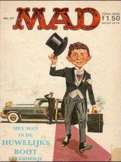 Go to MAD Magazine #27 • Netherlands • 1st Edition