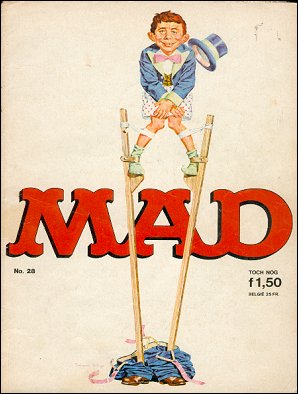 MAD Magazine #28 • Netherlands • 1st Edition