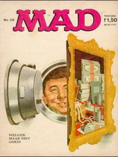 Go to MAD Magazine #29 • Netherlands • 1st Edition