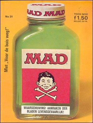 MAD Magazine #31 • Netherlands • 1st Edition