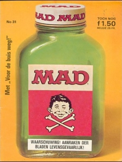 Go to MAD Magazine #31 • Netherlands • 1st Edition