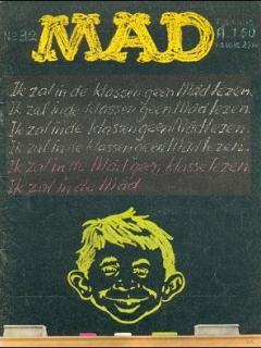 Go to MAD Magazine #32 • Netherlands • 1st Edition