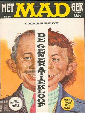 MAD Magazine #34 • Netherlands • 1st Edition