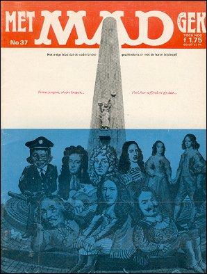 MAD Magazine #37 • Netherlands • 1st Edition