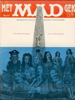 Go to MAD Magazine #37 • Netherlands • 1st Edition