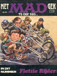 Go to MAD Magazine #38 • Netherlands • 1st Edition