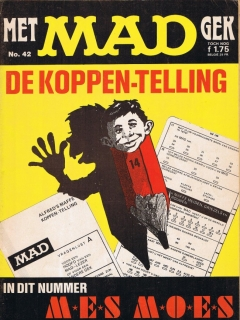 MAD Magazine #42 • Netherlands • 1st Edition