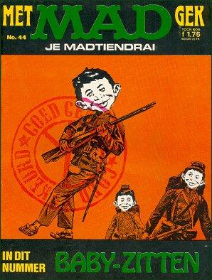 MAD Magazine #44 • Netherlands • 1st Edition