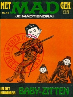 Go to MAD Magazine #44 • Netherlands • 1st Edition