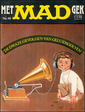 MAD Magazine #46 • Netherlands • 1st Edition