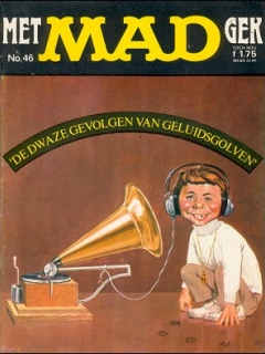 Go to MAD Magazine #46 • Netherlands • 1st Edition