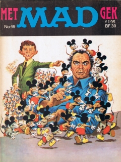 Go to MAD Magazine #49 • Netherlands • 1st Edition