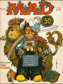 Go to MAD Magazine #50 • Netherlands • 1st Edition