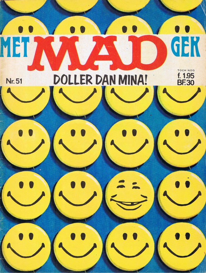 MAD Magazine #51 • Netherlands • 1st Edition