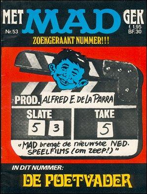 MAD Magazine #53 • Netherlands • 1st Edition