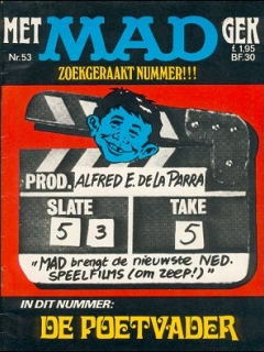 MAD Magazine #53 • Netherlands • 1st Edition