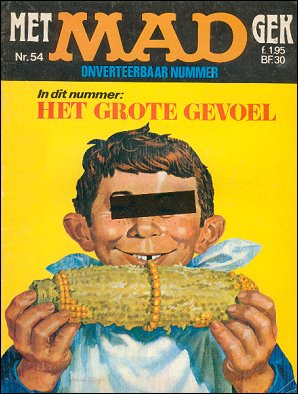 MAD Magazine #54 • Netherlands • 1st Edition