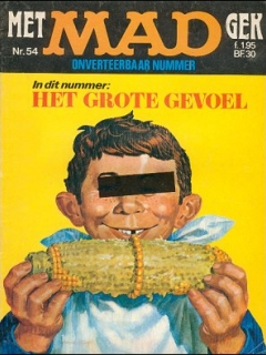 Go to MAD Magazine #54 • Netherlands • 1st Edition