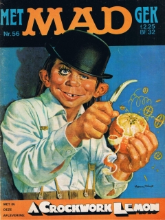 MAD Magazine #56 • Netherlands • 1st Edition