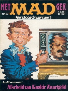 MAD Magazine #57 • Netherlands • 1st Edition