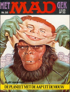 MAD Magazine #58 • Netherlands • 1st Edition