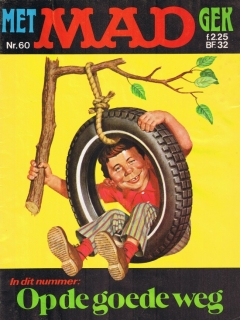 MAD Magazine #60 • Netherlands • 1st Edition