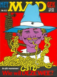 Go to MAD Magazine #62 • Netherlands • 1st Edition
