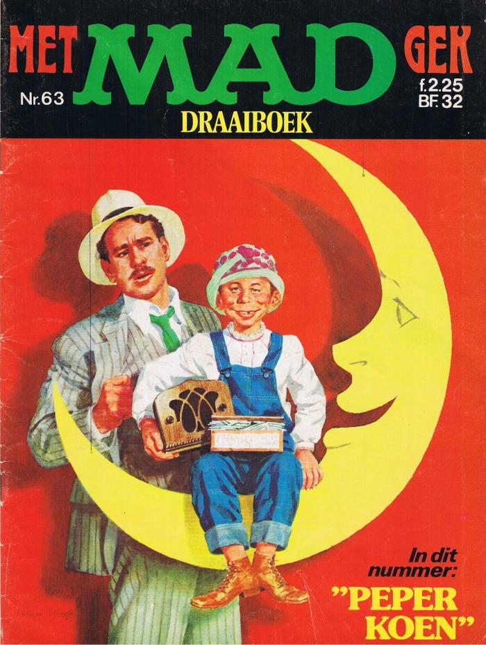 MAD Magazine #63 • Netherlands • 1st Edition