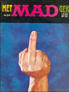 Go to MAD Magazine #64 • Netherlands • 1st Edition