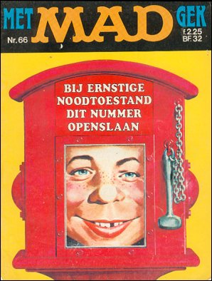 MAD Magazine #66 • Netherlands • 1st Edition