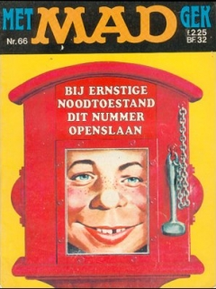 Go to MAD Magazine #66 • Netherlands • 1st Edition