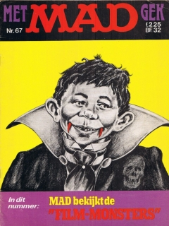 MAD Magazine #67 • Netherlands • 1st Edition