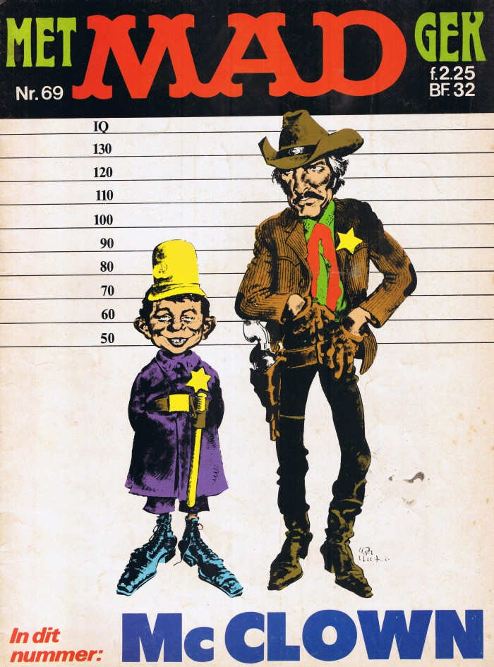 MAD Magazine #69 • Netherlands • 1st Edition