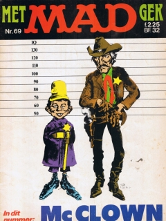 Go to MAD Magazine #69 • Netherlands • 1st Edition