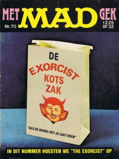 Go to MAD Magazine #70 • Netherlands • 1st Edition