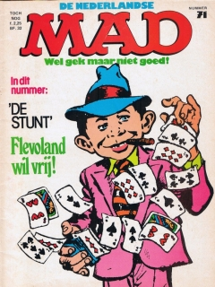 Go to MAD Magazine #71 • Netherlands • 1st Edition