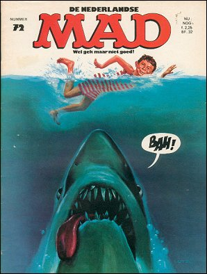 MAD Magazine #72 • Netherlands • 1st Edition