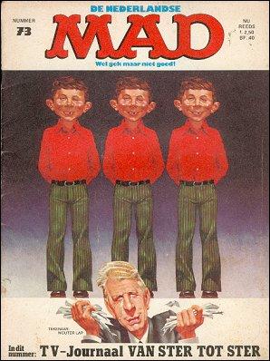 MAD Magazine #73 • Netherlands • 1st Edition