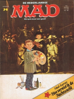Go to MAD Magazine #74 • Netherlands • 1st Edition