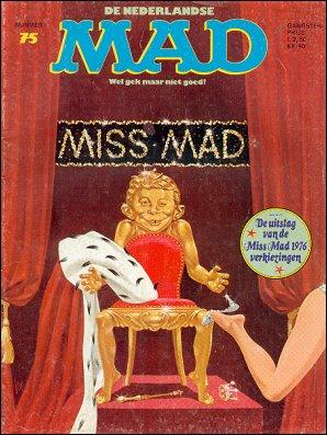 MAD Magazine #75 • Netherlands • 1st Edition